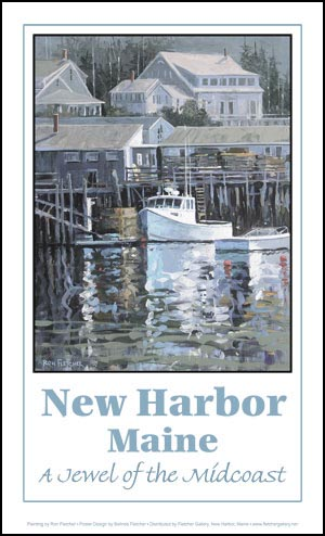 New Harbor Poster